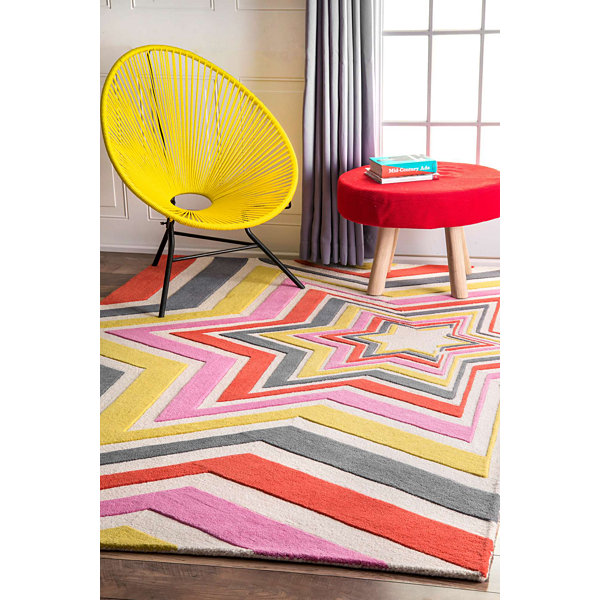 nuLoom Thomas Paul Hand Tufted Stars Rug