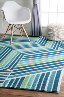 nuLoom Thomas Paul Hand Tufted Stripes Rug