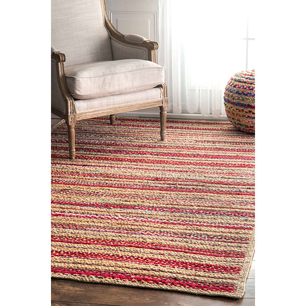nuLoom Taina Braided Stripes Rug