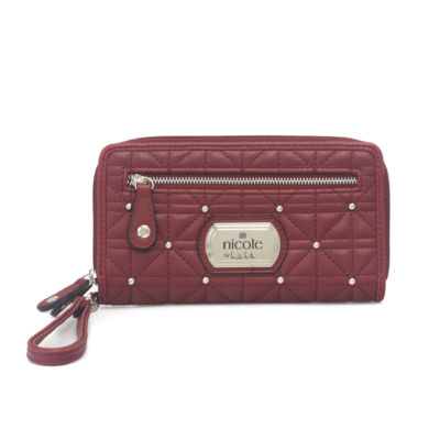 Nicole By Nicole Miller Cara Zip Around Wallet