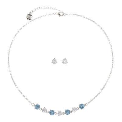 Monet Jewelry Silver Tone 2-pc. Jewelry Set