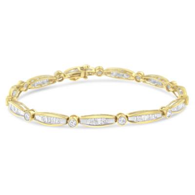 14K Gold 7 Inch Solid Box Link Bracelet
