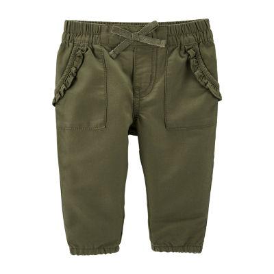 Oshkosh Girls Pull-On Pants - Baby