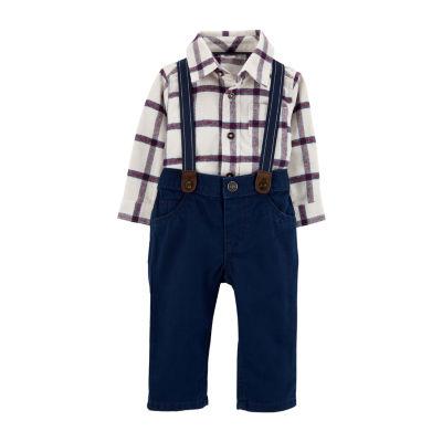 Carter's 3-Pc. Pant Set Baby Boys