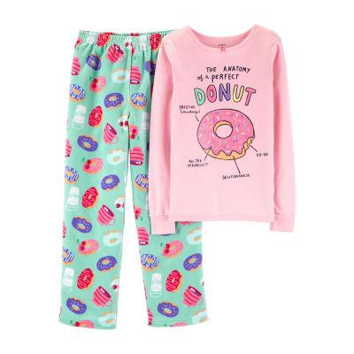 Carter's Long Sleeve Top & Pant 2-Pc. Pajama Set - Preschool Girls