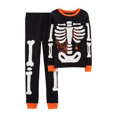 Carter's 2-pc. Skeleton Halloween Pajama - Preschool Boy