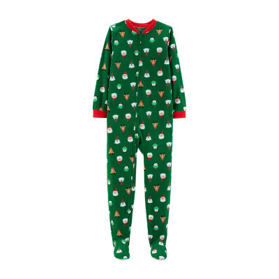 Carter's 1 Pc. Christmas Santa Footed - Unisex
