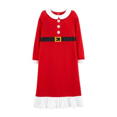 Carter's Long Sleeve Night Gown - Preschool Girls Long Sleeve Nightgown-Preschool Girls