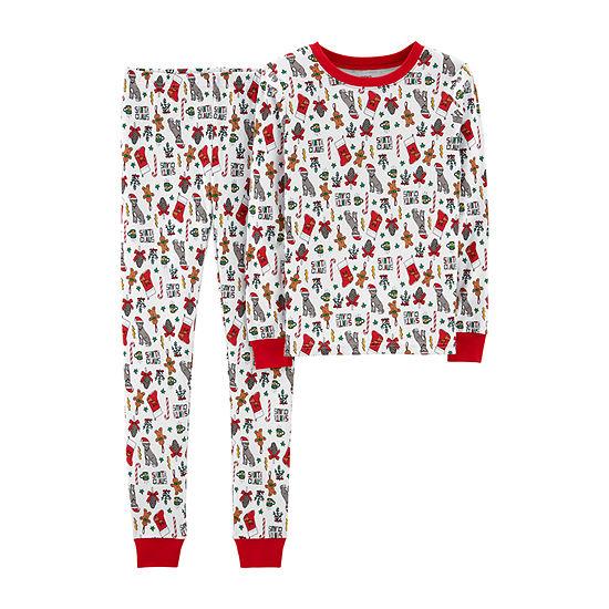 Carter's 2-Pc. Pajama Set Girls - Preschool Girls Girls 2-pc. Pant Pajama Set Preschool / Big Kid