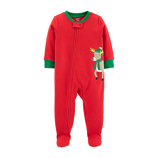 beba77250d53 Carter s Holiday Long Sleeve One Piece Pajama - Toddler Boys - JCPenney