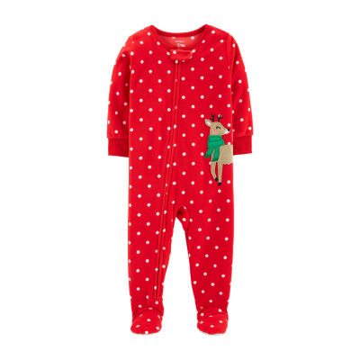 Carter's Holiday One Piece Pajama - Toddler Girls