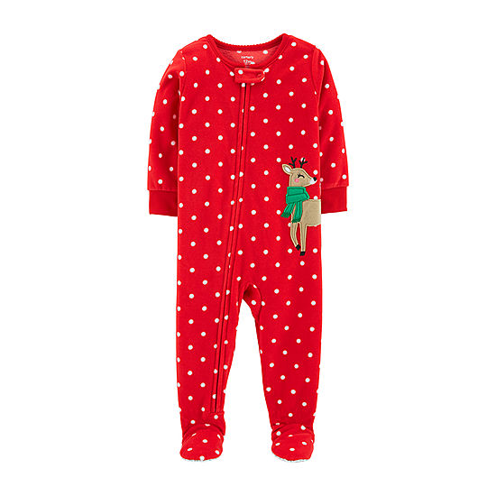 fd1ae2a67 Carter s Holiday One Piece Pajama - Toddler Girls - JCPenney