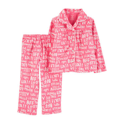 Carter's 2-Pc. Pajama Set - Toddler Girls