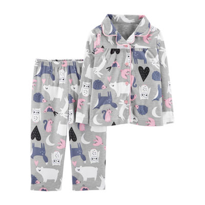 Carter's 2-pc. Pant Pajama Set - Toddler Girls