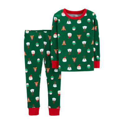 Carter's 2-Pc. Holiday Pjs - Toddler 2-pc. Pant Pajama Set Boys