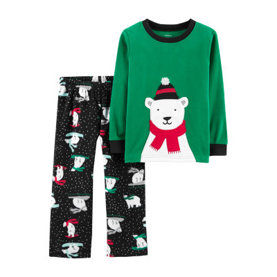 Carter's 2-Pc. Holiday Pjs - Toddler Girls