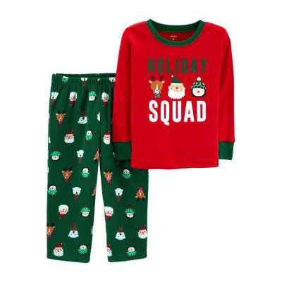 Carter's 2-Pc. Holiday Pajama Set - Toddler Girls