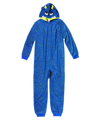 Arizona Boys Character Blanket Sleeper Long Sleeve One Piece Pajama-Big Kid Boys