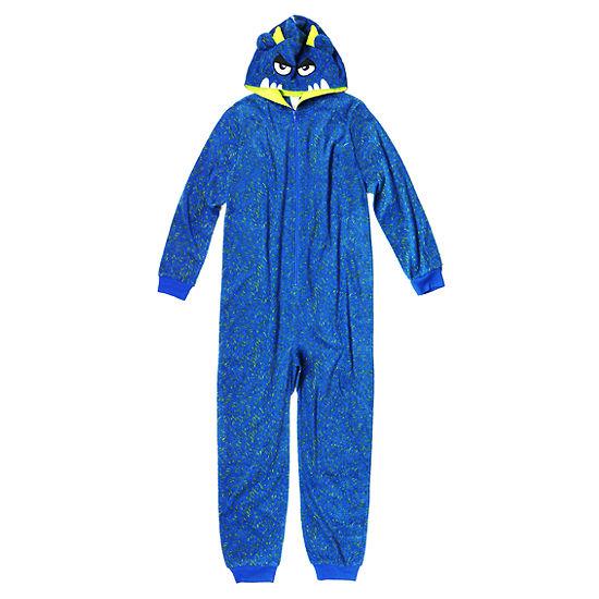 118fd698f Arizona Boys Character Blanket Sleeper Long Sleeve One Piece Pajama ...