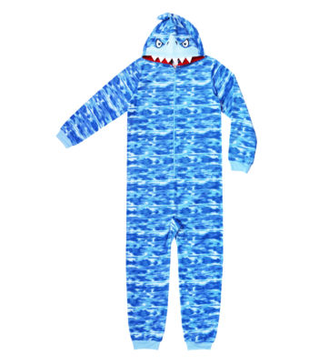 Arizona Long Sleeve One Piece Pajama-Big Kid Boys