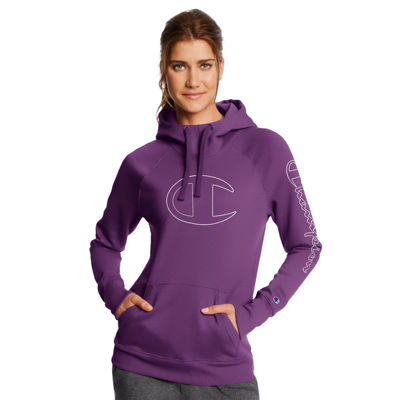 Champion Fleece Long Sleeve Hoodie - Womens