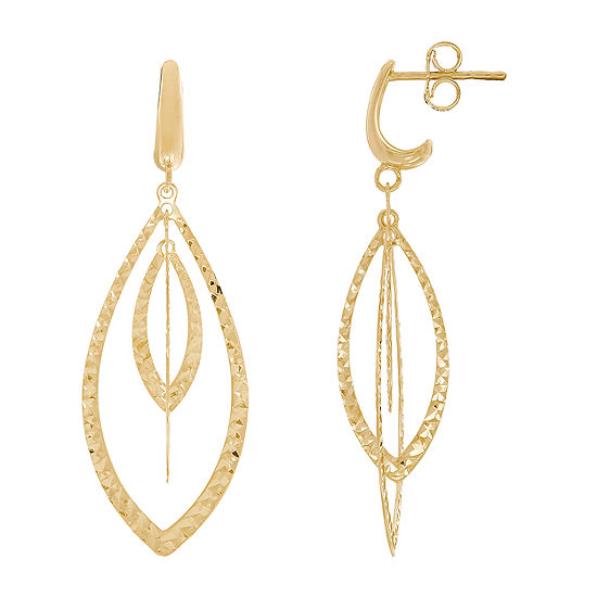 Infinite Gold 14K Gold Drop Earrings