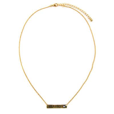 Arizona Womens White Collar Necklace