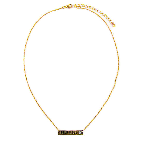 Arizona White 18 Inch Link Collar Necklace
