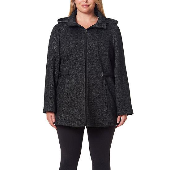 Details Hooded Lightweight Jacket Plus