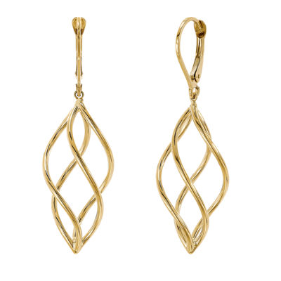 Infinite Gold 14K Gold Drop Earrings