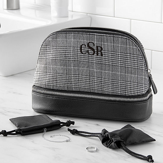Cathy's Concepts Monogram 3-pc. Toiletry Bag