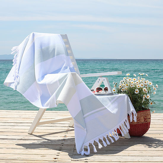 Linum Home Textiles Summer Loving 36x65 Beach Towel