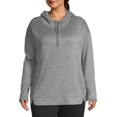 St. John's Bay Active Fleece Hoodie - Plus