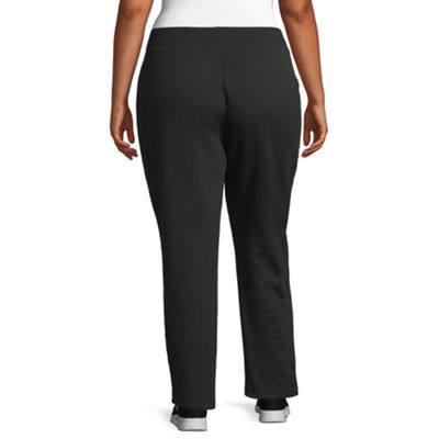 St. John's Bay Active Slim Leg Fleece Sweatpant - Plus