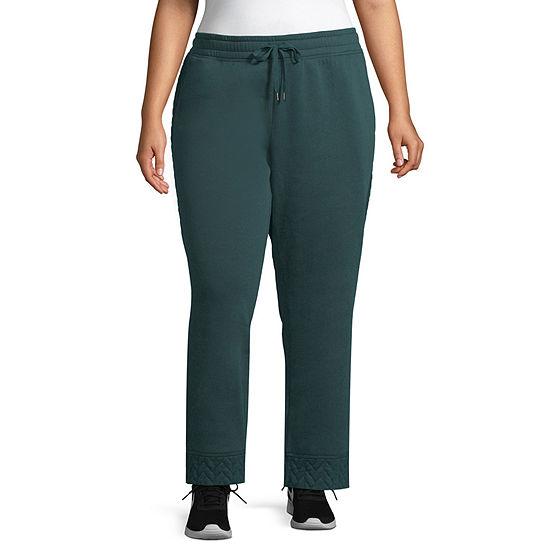 St. John's Bay Active Womens Sweatpant-Plus