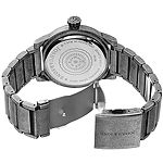 Joshua & Sons Mens Silver Tone Strap Watch-J-139ss