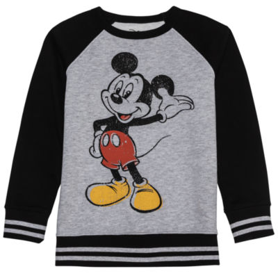 Disney Mickey's 90th Long Sleeve Mickey Mouse Sweatshirt Boys