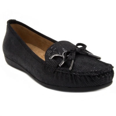 Gloria Vanderbilt Womens Lady Moccasins Slip-on