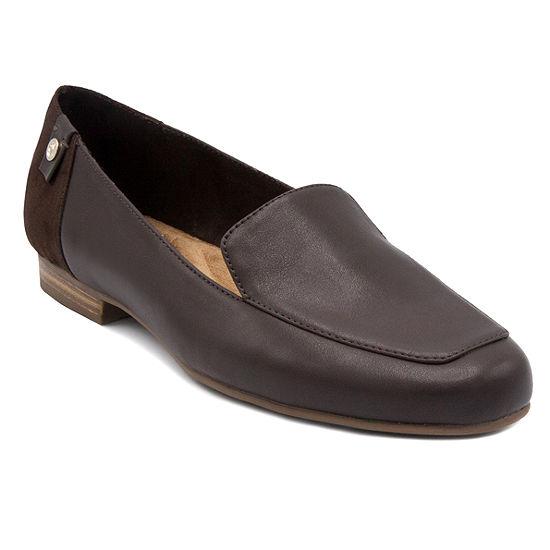Gloria Vanderbilt Womens Majorie Square Toe Slip-On Shoe