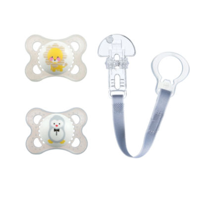 Mam Baby 3-pc. Pacifier & Clip Value Pack - Unisex