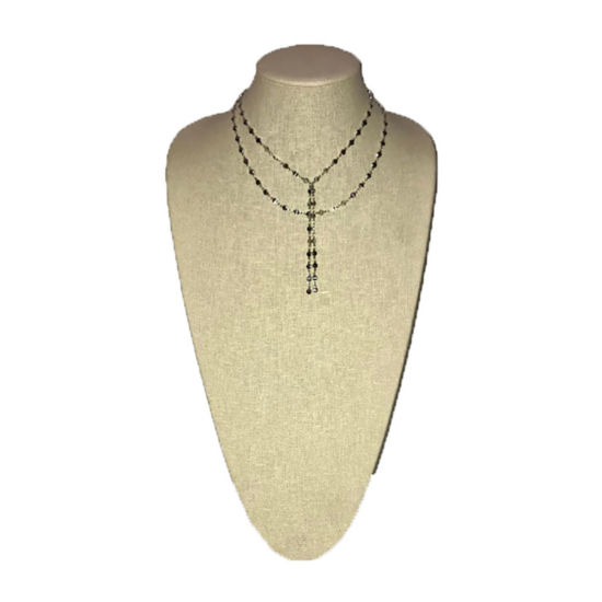 a.n.a Womens Brass Choker Necklace