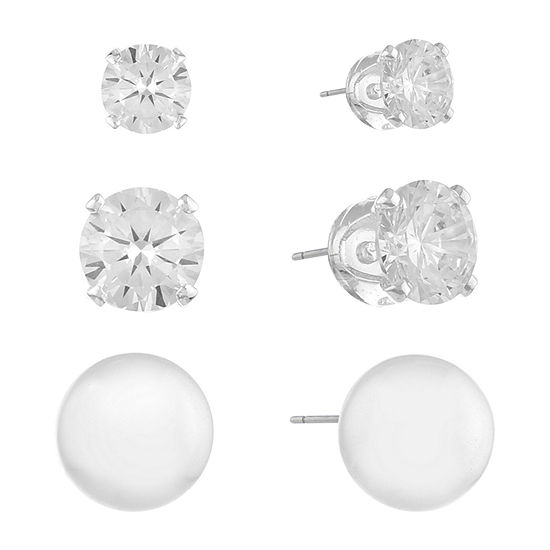Gloria Vanderbilt 7.7mm Stud Earrings