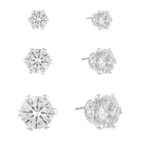 Gloria Vanderbilt 5.3mm Stud Earrings