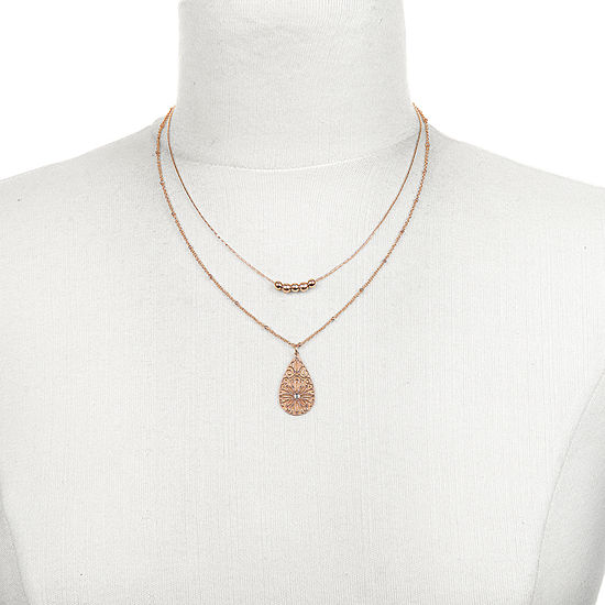 Mixit 16 Inch Link Chain Necklace