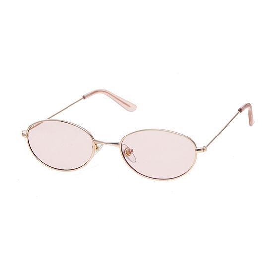 Arizona Womens Junior Full Frame Oval UV Protection Sunglasses
