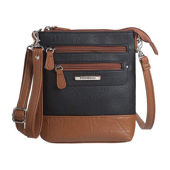 Stone And Co Nancy Leather Crossbody Bag