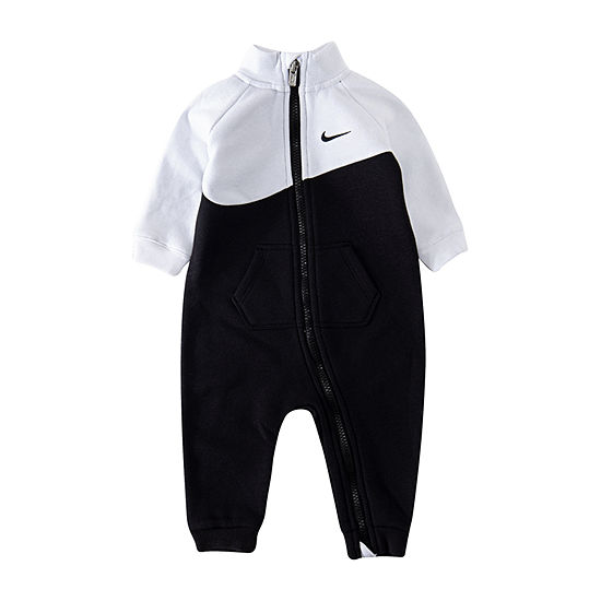 Nike Boys Long Sleeve Romper - Baby