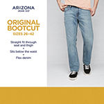 Arizona Mens Relaxed Fit Bootcut Jean