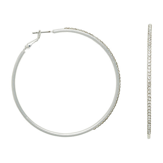 Mixit 62mm Hoop Earrings