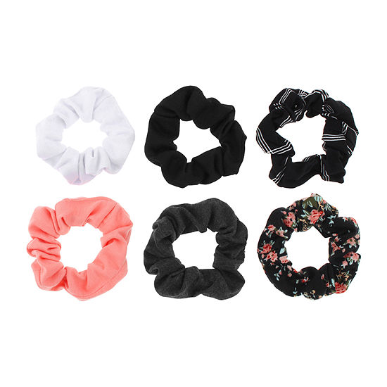 Mixit Scrunchie 6-pc. Hair Ties
